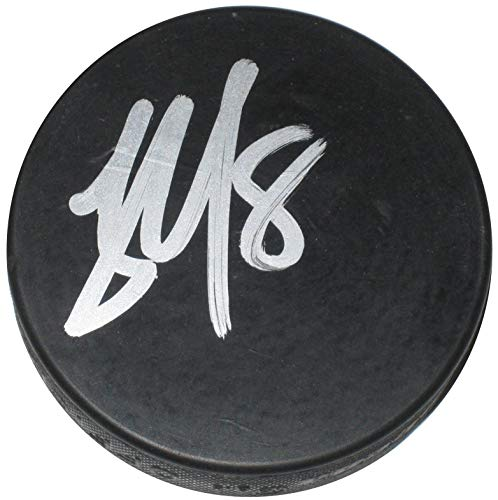 (James Neal, Calgary Flames,Vegas Golden Knights, Penguins, signed, autographed, Hockey Puck, a Coa with the Proof Photo of James Signing Will Be)