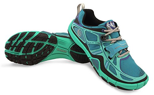 (Topo Athletic Halsa Training Running Shoe - Women's Emerald/Black 8)