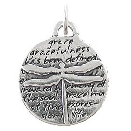 y Pendant with Inspirational Inscriptions in Sterling Silver, 8226 ()