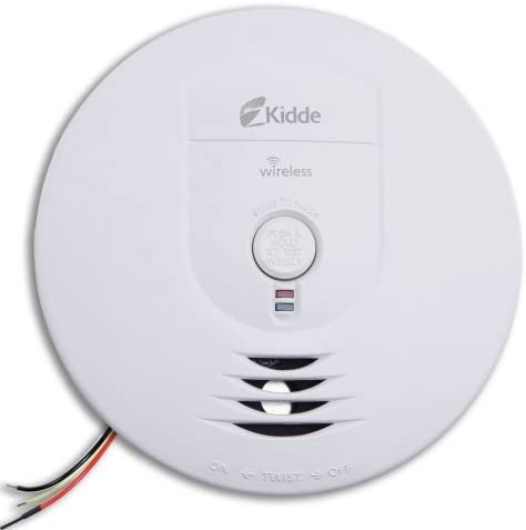Kidde 1279-9999 RF-SM-AC Hardwire Smoke Alarm with Battery Backup, Interconnectable by Kidde