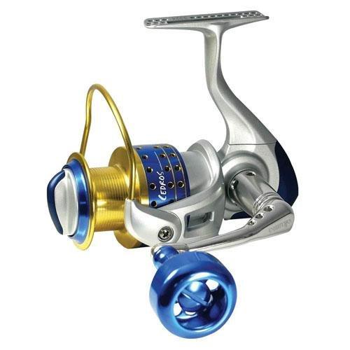 (Cedros Spinning Reel, 4BB + 1RB, 5.8:1 Ratio, Machined Alum Spool, Mono 12/430, 15/310, 20/260)