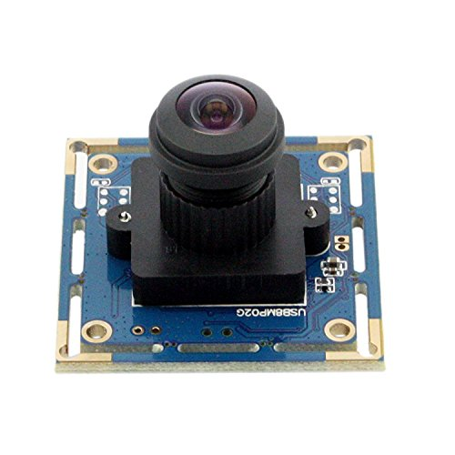SVPRO Web Camera 8 megapixel Micro Digital SONY IMX179 USB 8MP hd Webcam High Speed Usb 2.0 CCTV Usb Camera Board with 180degree No Distortion Lens by SVPRO