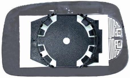 Verre plaque miroir r/étroviseur Ulysse 2002 gauche thermique