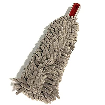 Interior Car Microfiber Duster Detail - Lint Free - EZ Grip Comfort Handle - Car Truck and Home Use - Top of The Line Multipurpose Car Duster: Automotive