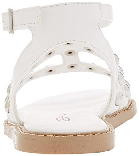 Dolcis Jemima - Sandalia con Pulsera Para Mujer Blanco (White)