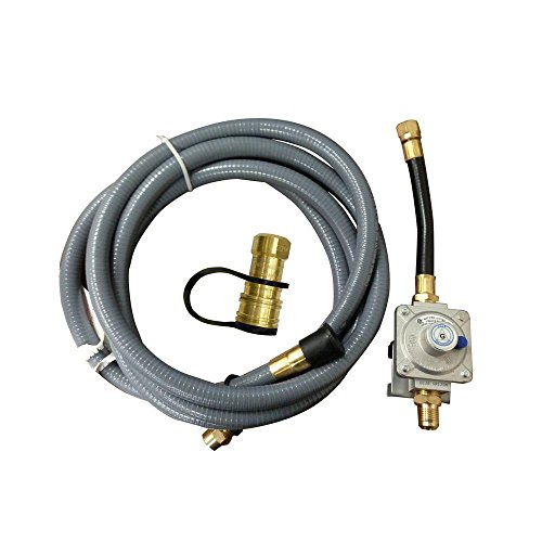 Gas Natural Grill Regulator (Nexgrill Industries Inc 710-0008 Natural Gas Conversion Kit)