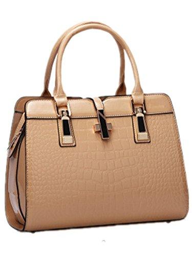 Bags Bag Generic Handbag Women's PU Brown 12IN Purse Hobo Leather FwwZqfA8