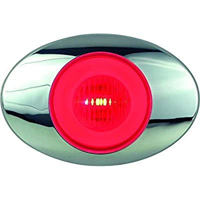 "Optronics 11212237P Millennium 3"" LED Marker/Clearance Light, Red: Automotive"