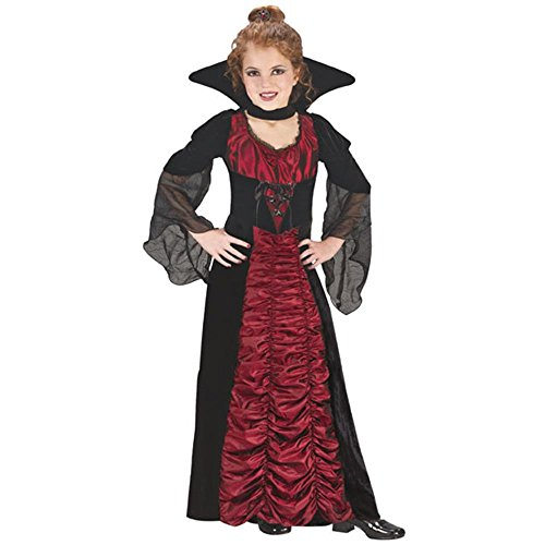 [Child's Elegant Coffin Vampiress Costume (Size: Small 4-6)] (Elegant Coffin Witch Costumes)