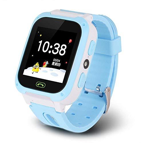 4G Smart Watch für Kinder, Smartwatches mit GPS IP67 wasserdicht Voice Chat HD Kamera SOS LED Taschenlampe Wecker…
