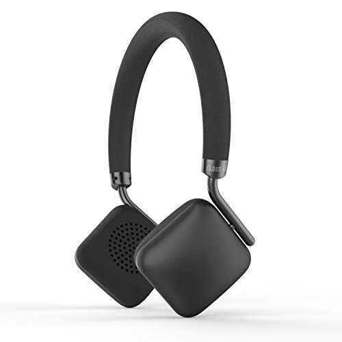Cloud Fox H2 Bluetooth Headphones On-Ear, Lightweight Wireless and Wired Headphones with Mic & 12-Hour Battery, Powerful Bass Headset with Soft Memory-Protein Cushions for Cell Phones, PC and Tablets by Cloud Fox