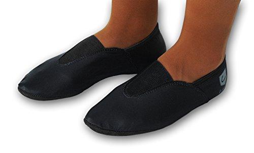 Nero 44 220gp Classica Turnschläppchen Gummipads Con Avec Danse Ballet Scarpe Gr Noir Gr Danza Gummipads Scarpe 28 Chaussure 220gp Chaussures Turnschläppchen Danza 28 44 wPgqgf81