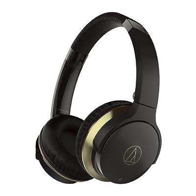 Audio-Technica ATH-AR3BTBK SonicFuel Wireless On-Ear Headphones with Mic & Control, Black