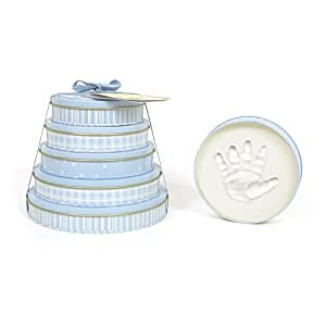 Child to Cherish Handprints Tower Of Time Kit in Blue