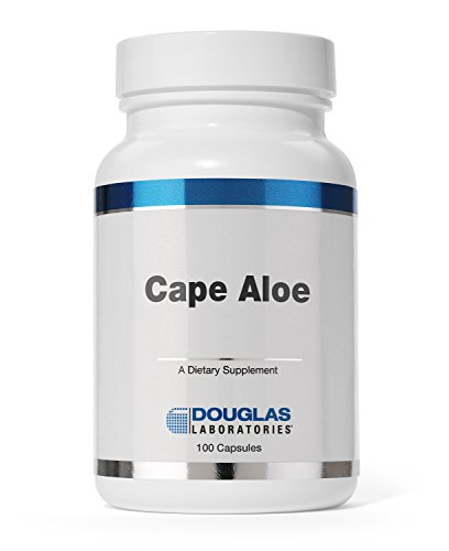Douglas Laboratories® - Cape Aloe - Cape Aloe Latex Supports Bowel Regularity* - 100 Capsules (Best Acne Products In South Africa)