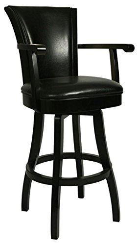 Impacterra QLGL217327865 Glenwood Swivel Stool with Arms, 26