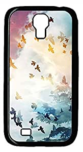 Samsung Galaxy S4 Case PC Customized Unique Print Design Beautiful Watercolor Painting Case Cover For Samsung Galaxy S4