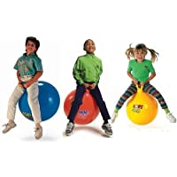 Toku Jumping Hopping Inflatable Hop Ball For KIds Included Free Foot Pump, 65 cm