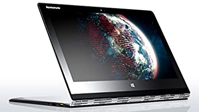 "Lenovo Yoga 3 Pro Convertible Ultrabook - Silver - Intel Core M-5Y71, 512GB SSD, 8GB RAM, 13.3"" QHD+ 3200x1800 Touchscreen, AC WiFi, Bluetooth, HD Webcam, Backlit Keyboard, Windows 10"