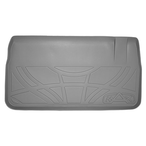 SMARTLINER All Weather Cargo Liner Floor Mat Behind 3rd Row Seat Grey for 2008-2018 Grand Caravan / Town Country