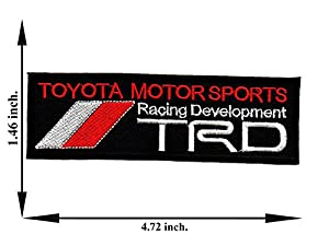 amazon com black trd toyota motor sports racing development car rh amazon com TRD Racing Products TRD Racing Products