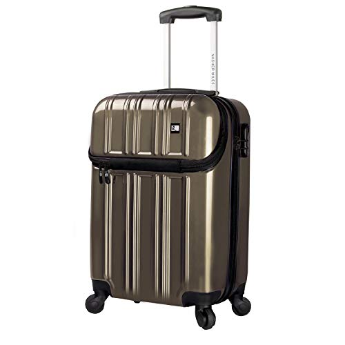 Nasher Miles New York 51 cm ABS & PC Bronze Hard Sided Cabin Bag