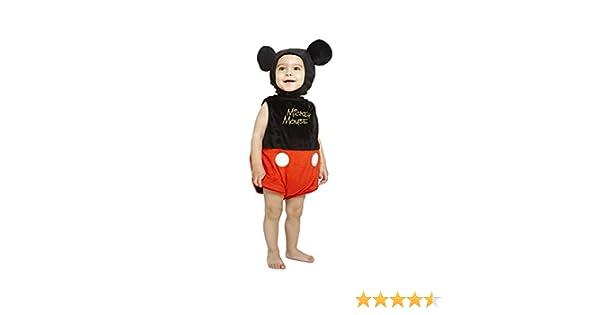 Disfraz Lujo Mickey bebé: Amazon.es: Juguetes y juegos