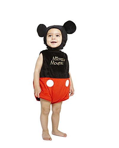 Disney Baby Mickey Mouse Plush Tabard Costume with Feature Hat by ToyCentre