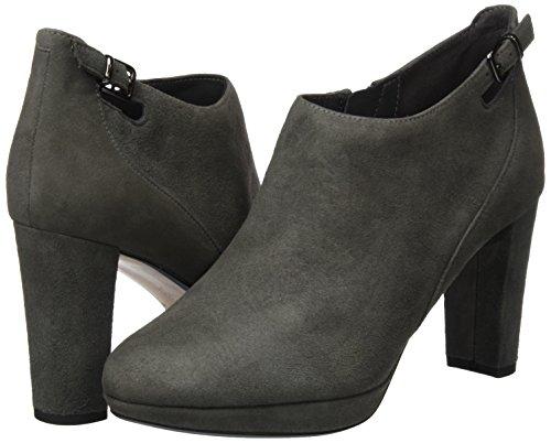Gris Bottes Kendra Clarks Grey Spice dark Femme Classiques wnAEfqx