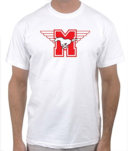 Hamilton Mustangs Hockey Shirt - Youngblood (X-Unconfined, White)
