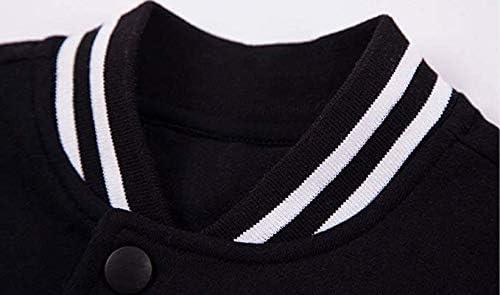 Funny Family of Cucumbers Unisex Baseball Jacket Coat Slim Varsity Sweatshirt Coat