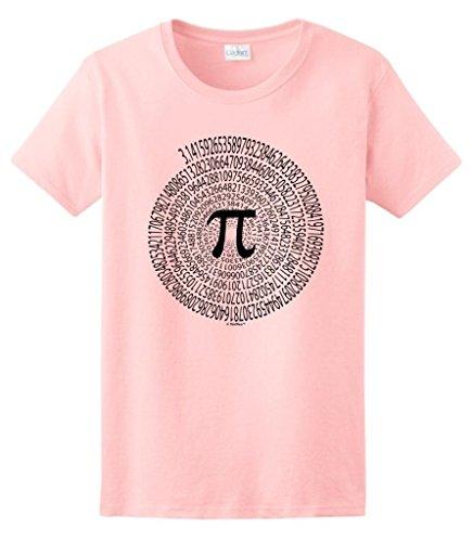 3 14 Spiral March Ladies T Shirt