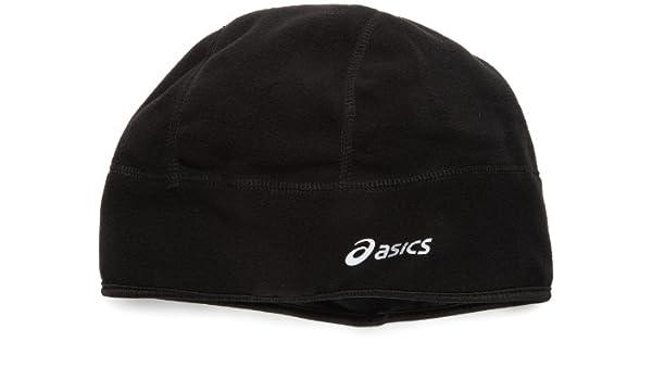 ASICS De-Luxe Fleece Running Beanie Cap,Black,L/XL: Amazon.es ...