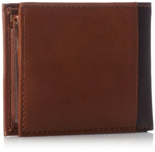 Tommy Hilfiger Men's Melton Passcase Billfold,Tan,One Size