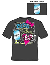Bless Your Little Southern Heart - Ladies Christian T-Shirt
