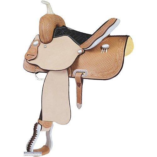 Billy Cook Saddlery Jr. Feather Barrel Saddle 13