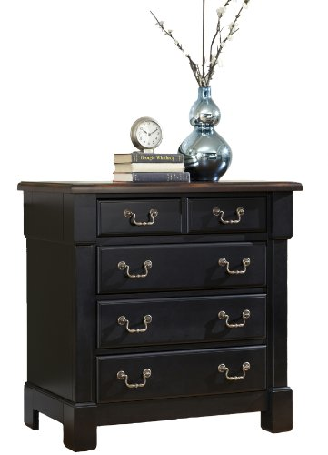 Mahogany Bedroom Furniture - Home Styles The Aspen Collection Drawer Chest