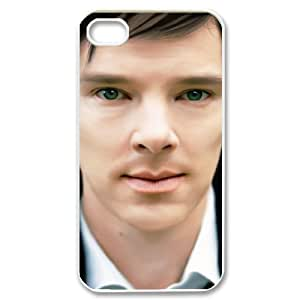 ANCASE Customized Print Benedict Cumberbatch Pattern Back Case for iPhone 4/4S