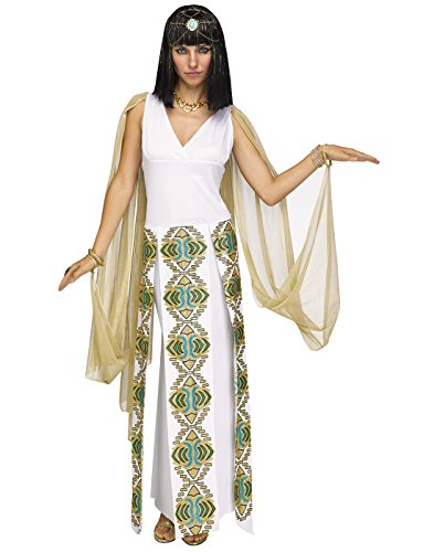 Fun World Womens Sexy Cleopatra Egyptian Costume size M/L -