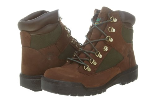 (Timberland Mens Icon 6 Inch Field Brown/Green Winter Boot - 7 M)
