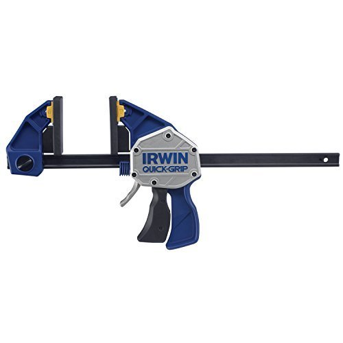 IRWIN Tools QUICK-GRIP XP600 Series One-Handed Bar Clamp and Spreader, 12-inch (2021412N) by IRWIN
