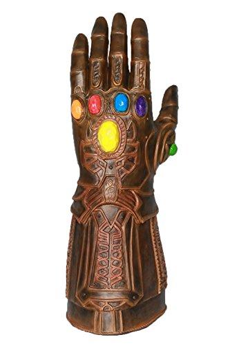 XCOSER Infinity Gauntlet Gems Glove Cosplay Costume Props Accessories