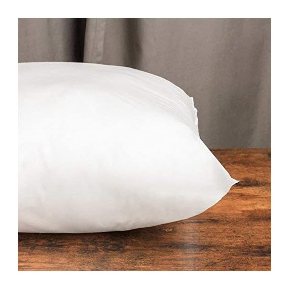 Phantoscope 4 Packs Outdoor Anti-Mold Water Resistant Throw Pillow Inserts Hypoallergenic Square Form Sham Stuffer 18 x 18 inches 45 x 45 cm - Size:18 x 18 inch , 45 x 45 cm. 4 Pack Water Resistant Throw Pillow Inserts Vacuum Packaged Insert Filling Material: 100% Polyester Microfiber. - patio, outdoor-throw-pillows, outdoor-decor - 41mLdNghfJL. SS570  -