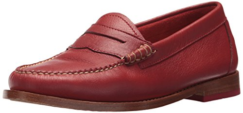 Loafer Whitney H G Bass Penny Red Women's fX7xgq