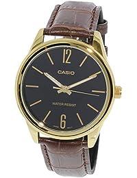 Relógio Masculino Casio Analógico MTPV005GL1BU Dourado/Marrom