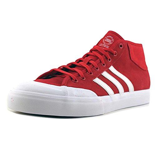 Adidas Matchcourt Mid Men Sneakers Sintetiche Rosse Scarlatte / Ftwwht / Ftwwht