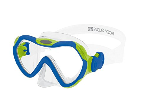 Body Glove Grape Adult Dive Mask, Blue/Lime, Small ()