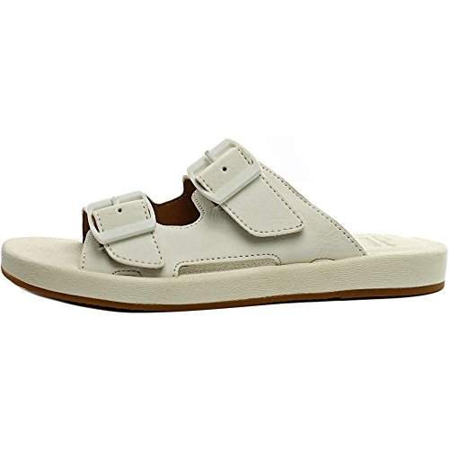 Clarks - Sandalias de vestir para mujer blanco