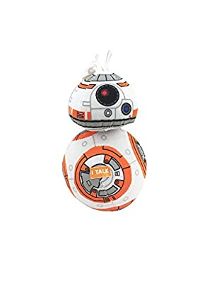 "Underground Toys Star Wars E7 4"" Talking Plush - BB8"