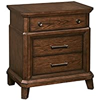 Broyhill Estes Park Nightstand, Brown